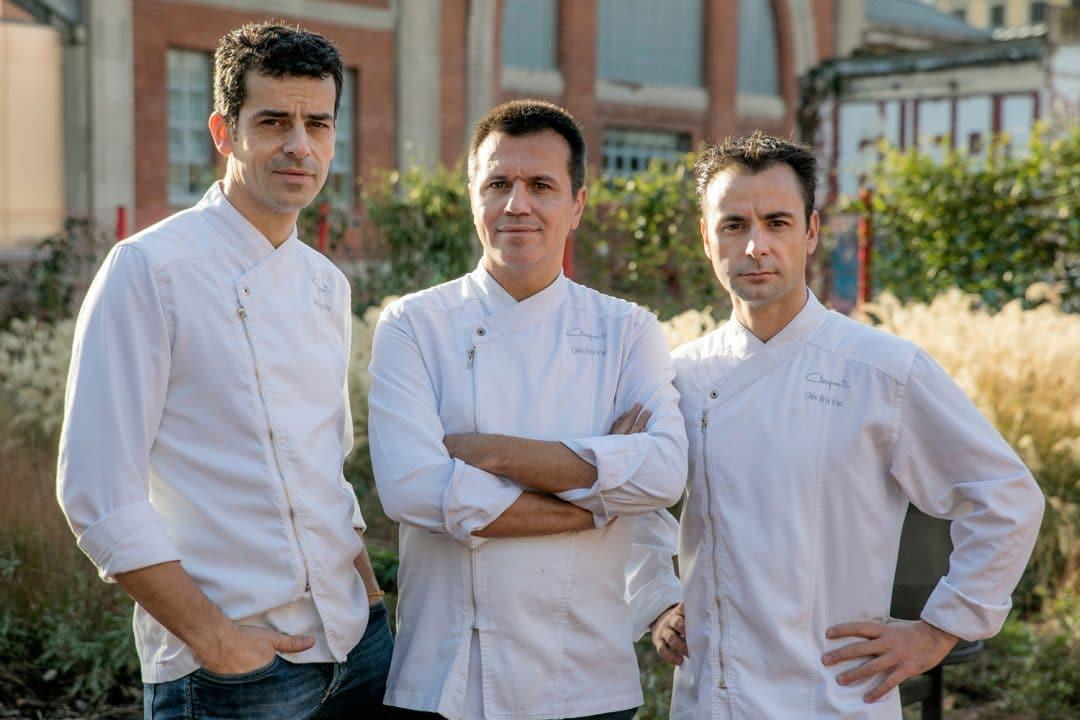 Foto de Mateu Casañas, Oriol Castro y Eduard Xatruch de Disfrutar Restaurantes de lujo 2020