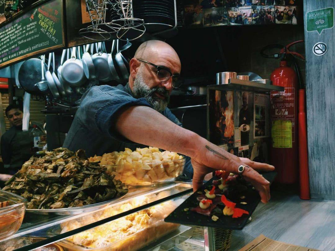 Restaurantes en los mercados: Quim de la Boquería en Barcelona 4