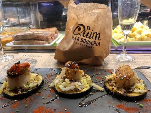 Restaurantes en los mercados: Quim de la Boquería en Barcelona 2