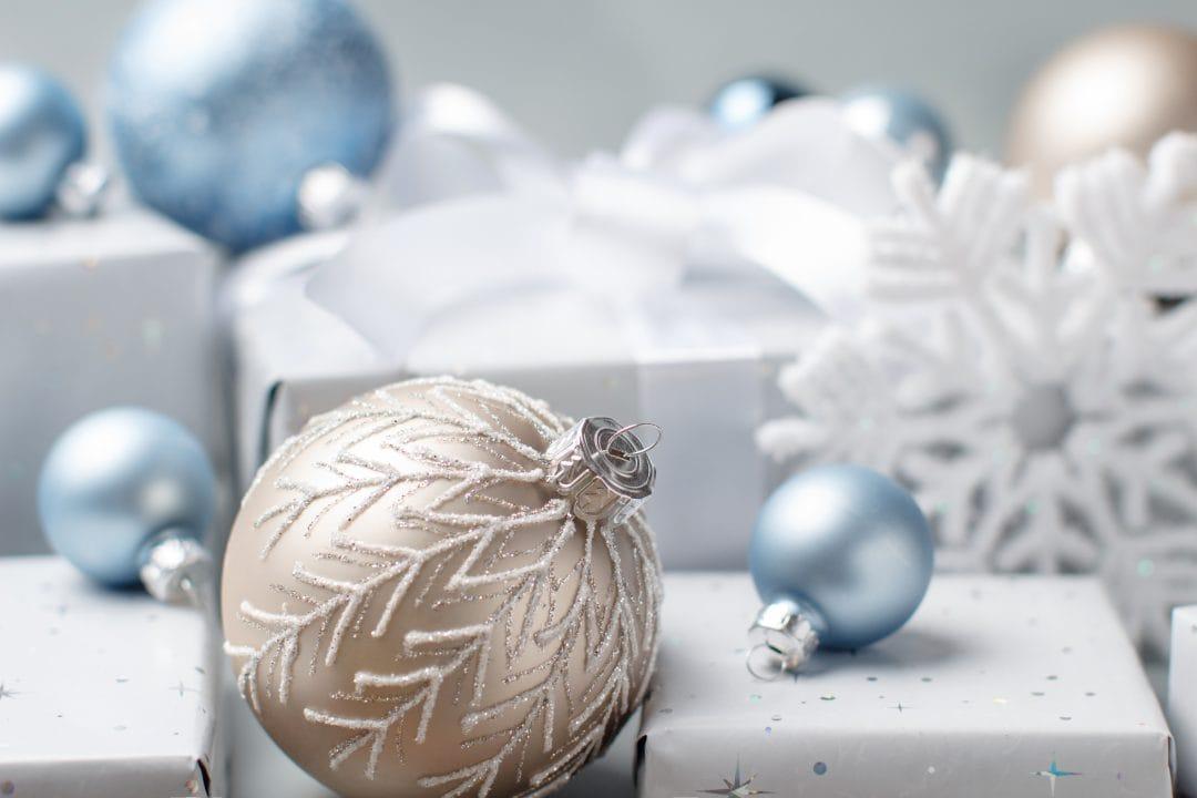 bolas decoración navideña