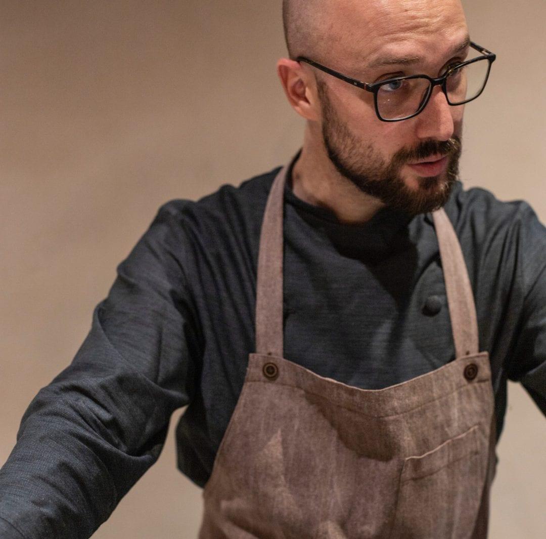 Chef Pedro Gallego de Casa Mortero