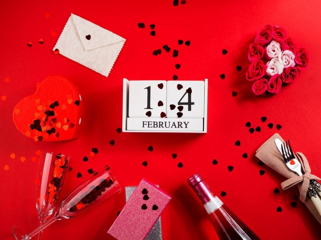 Elementos decoración San Valentín