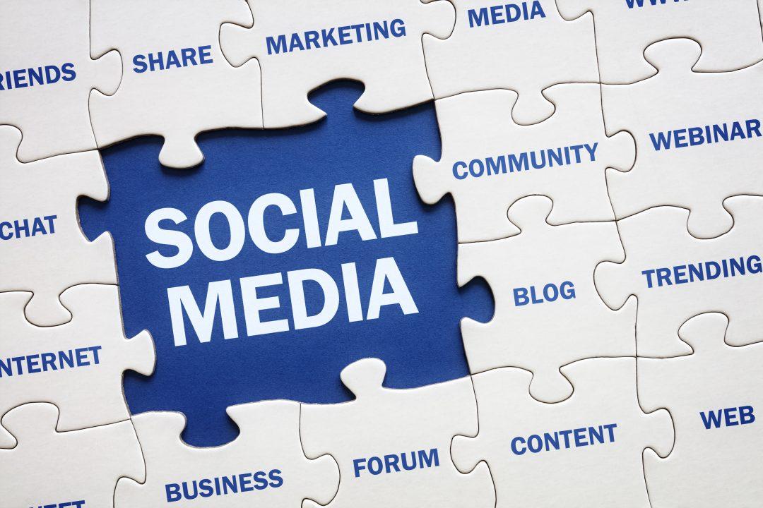 puzzle elementos redes sociales