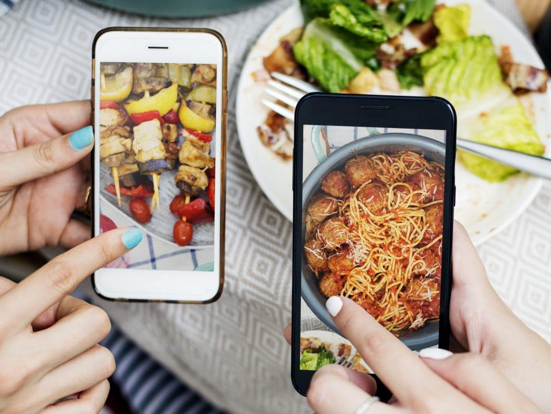 Clientes compartiendo los platos de tu restaurante en Instagram