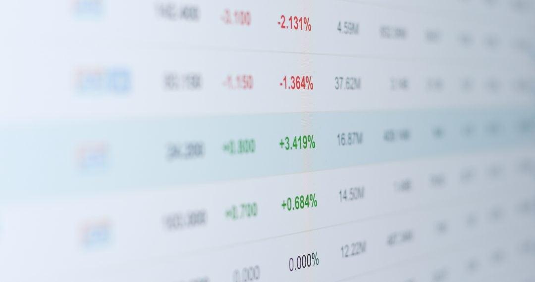 Estadísticas en PC para estudio de mercado restaurante