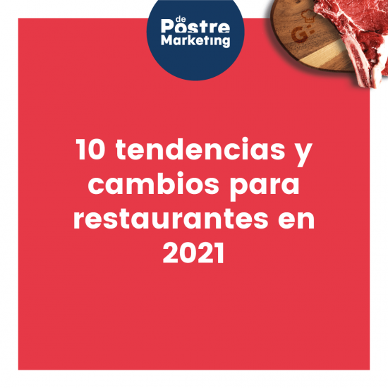 Portada tendencias restaurantes 2021