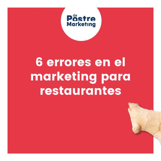 6 errores de marketing