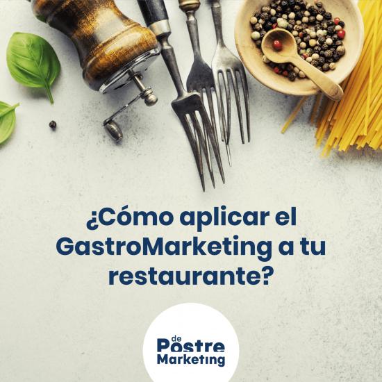 Como aplicar gastromarketing a tu restaurante