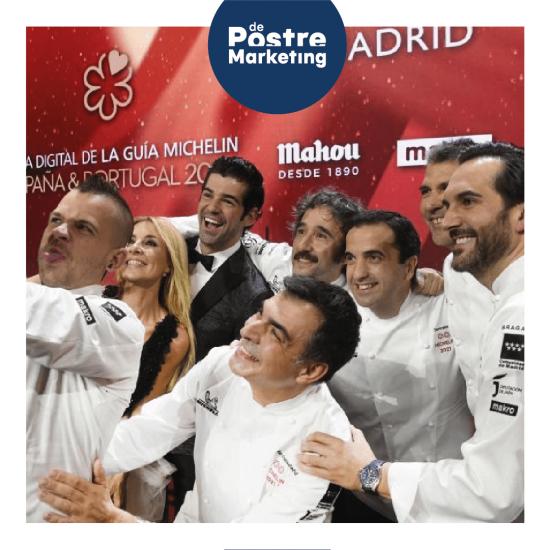 Premiados Gala Michelin 2021