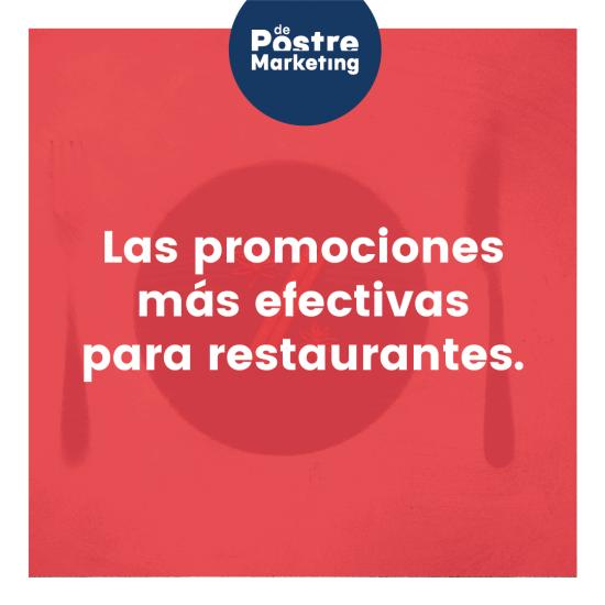 Portada promociones para restaurantes